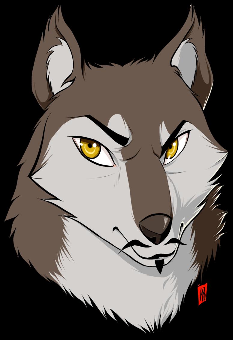 Мультяшная картинка волка