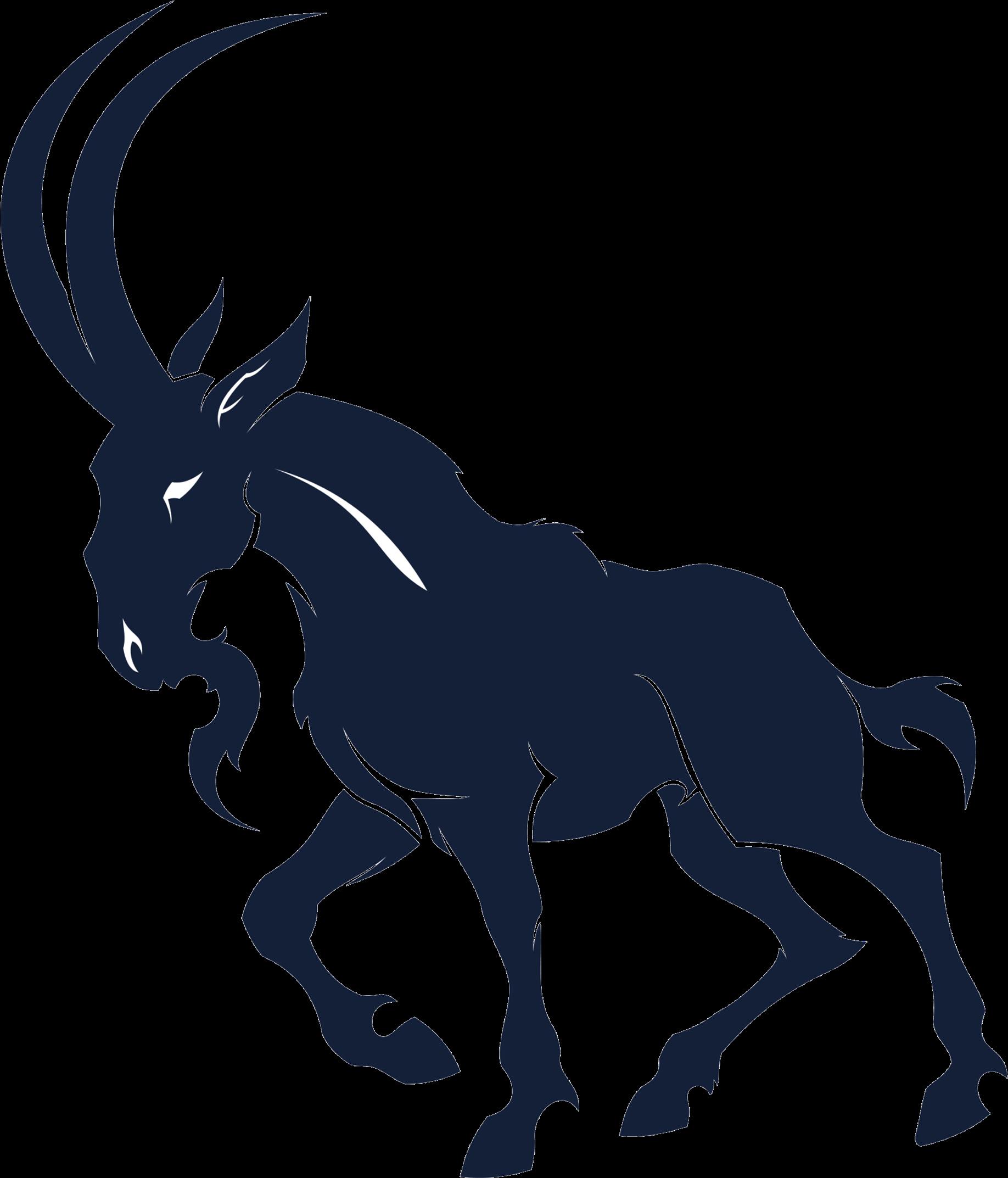 Nigerian Dwarf Goat Sheep Alpine Ibex Antelope - Goat Tattoo - (2440x2381)  Png Clipart Download