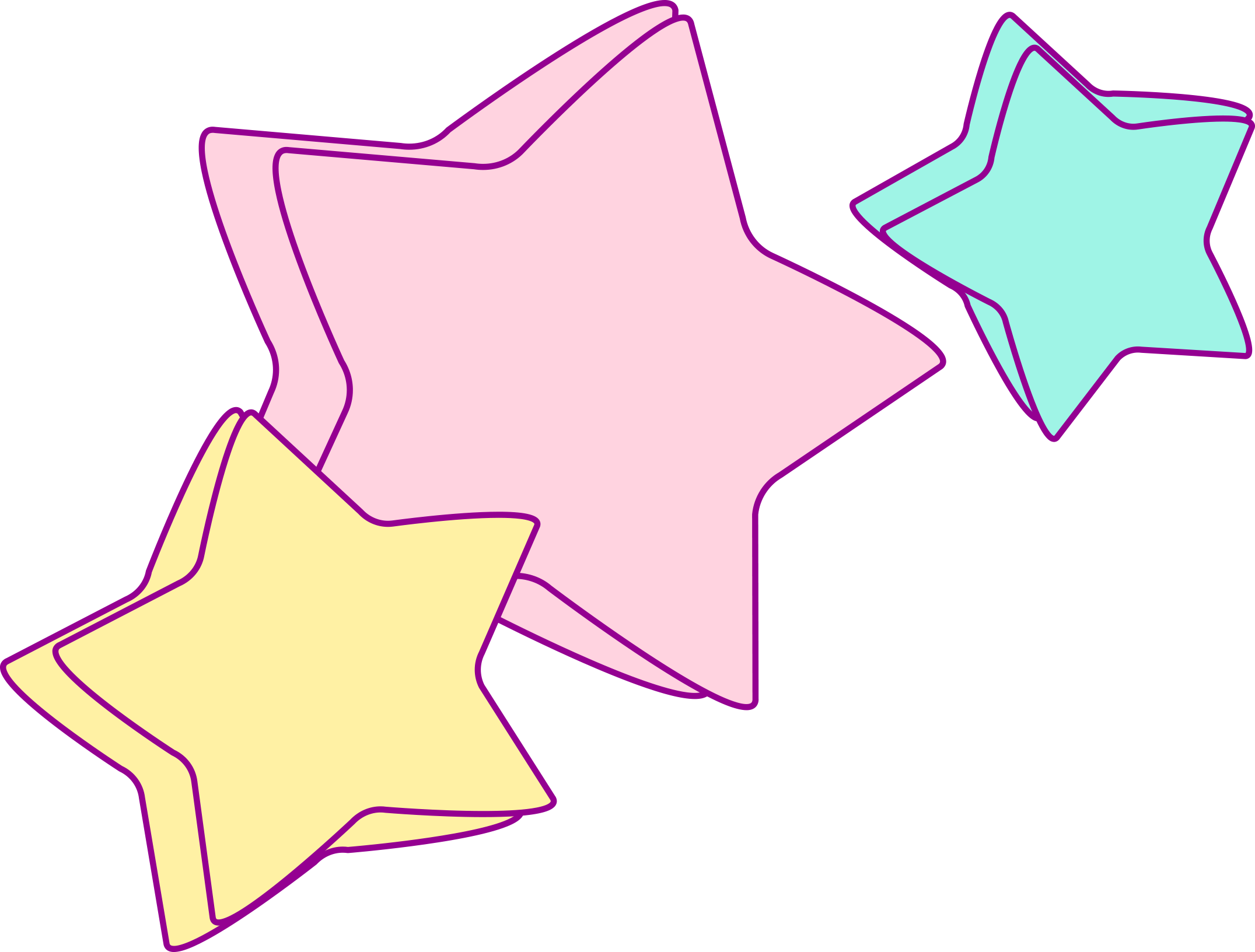 1 - Unicorn Star Clipart (2151x1632)