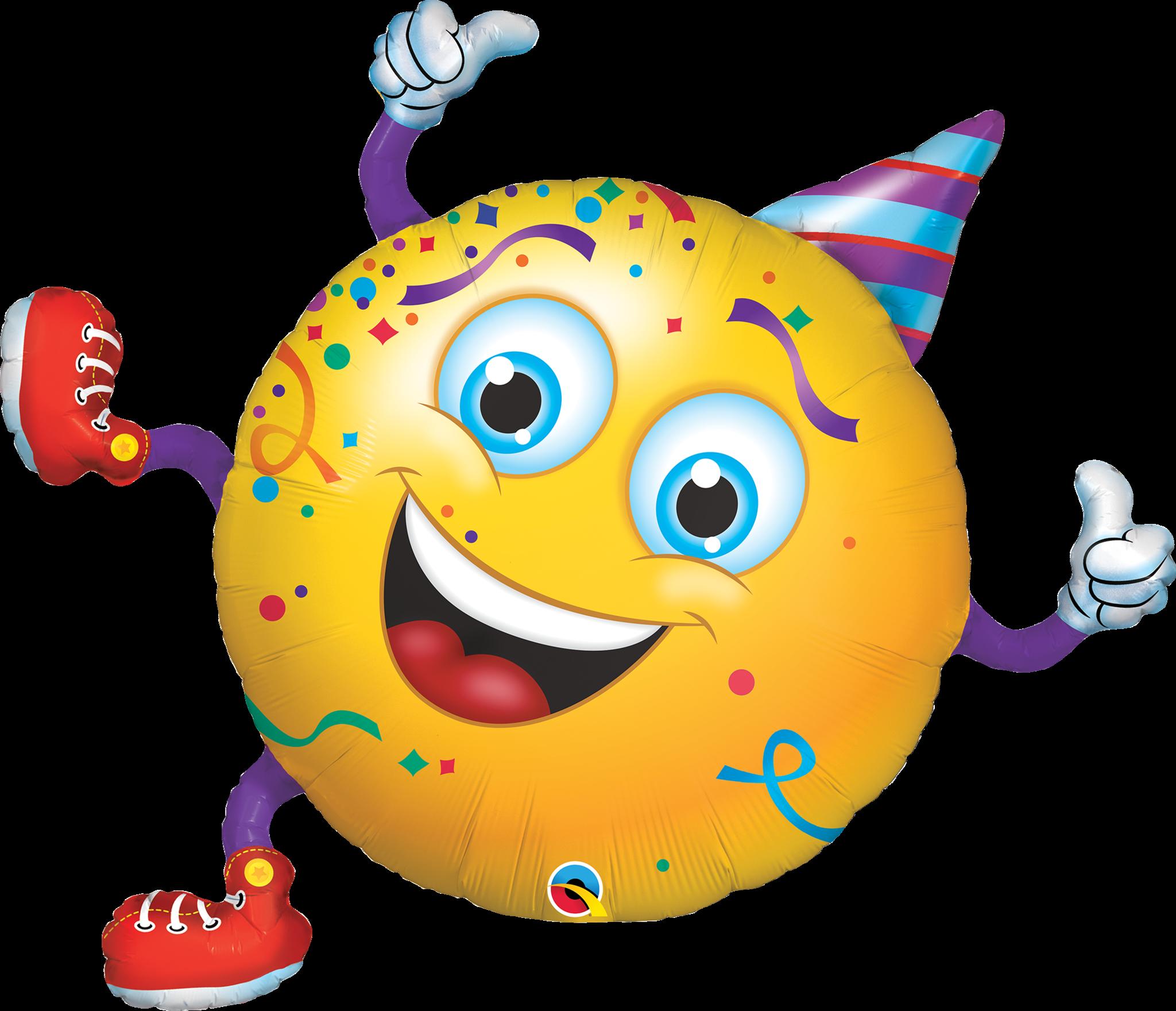День рождения смайлика картинки для детей
