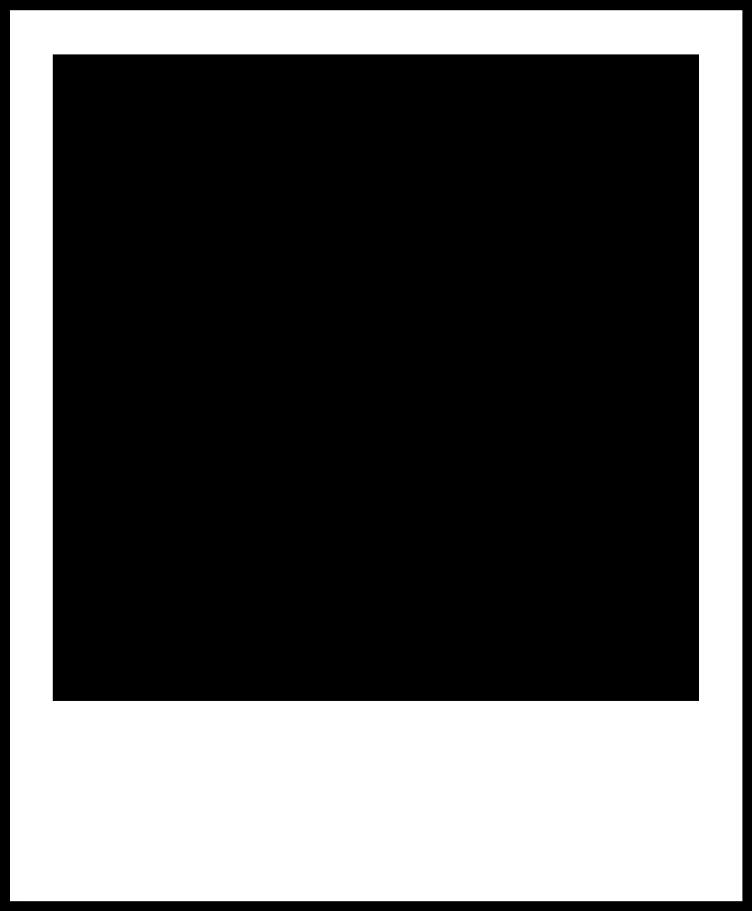 Polaroid Frame Template Overlay Transparent - Transparent Polaroid Frame Png (1024x1024)