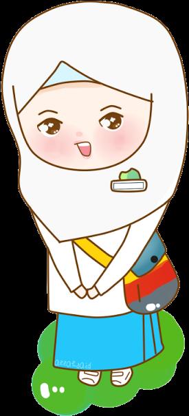 Freebies Back To School Kartun Anak Sd Berangkat Sekolah 640x640 Png Clipart Download