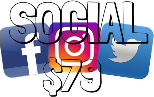 Let Us Handle Your Social Media Accounts, For A Great - Instagram Facebook Twitter Icons (500x500)