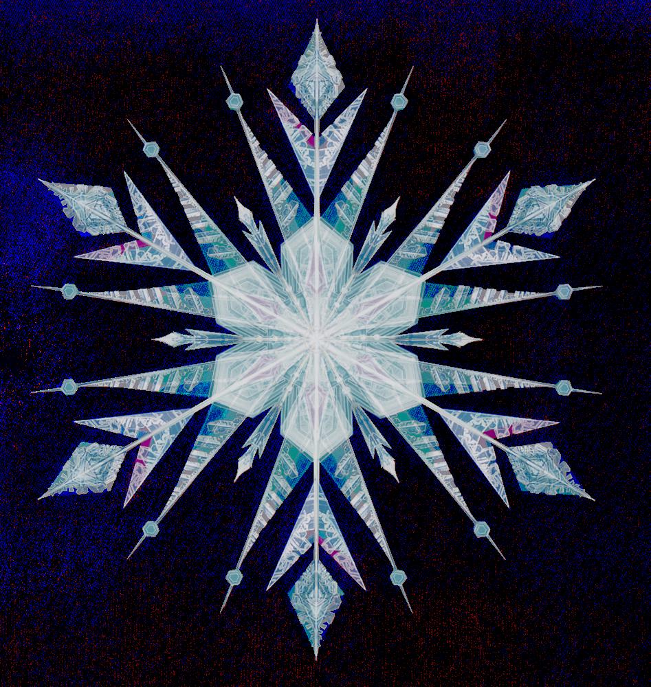 Clipart Snowflakes Png Download - Copo De Nieve Png Blanco Frozen (947x1000)
