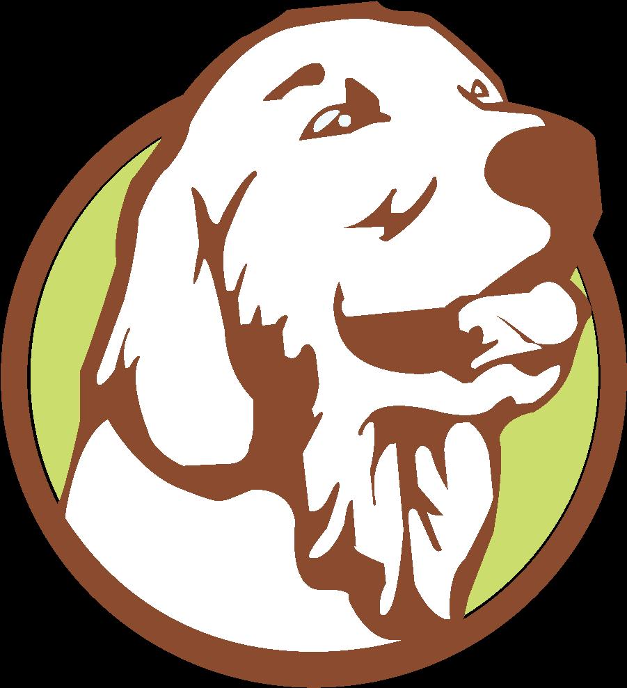 Картинка собаки для эмблемы