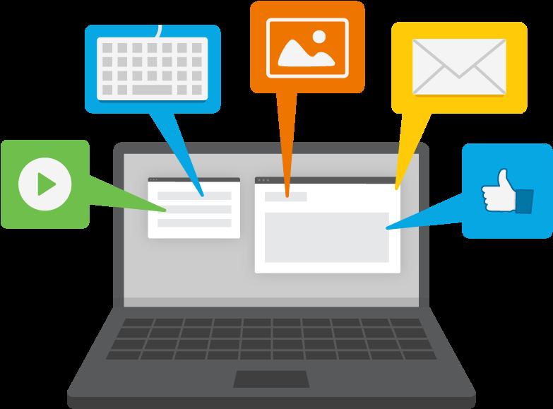 Technology Clipart For Teachers - Digital Literacy (801x601)
