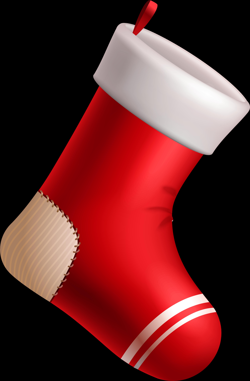 расположение, просторная картинка новогодний носок это