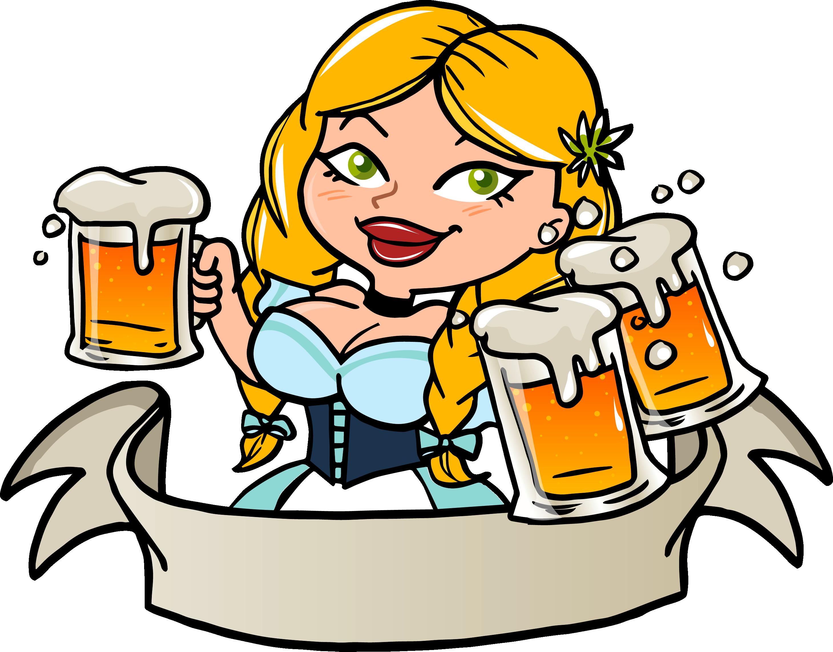 Девчонки с пивом веселые картинки