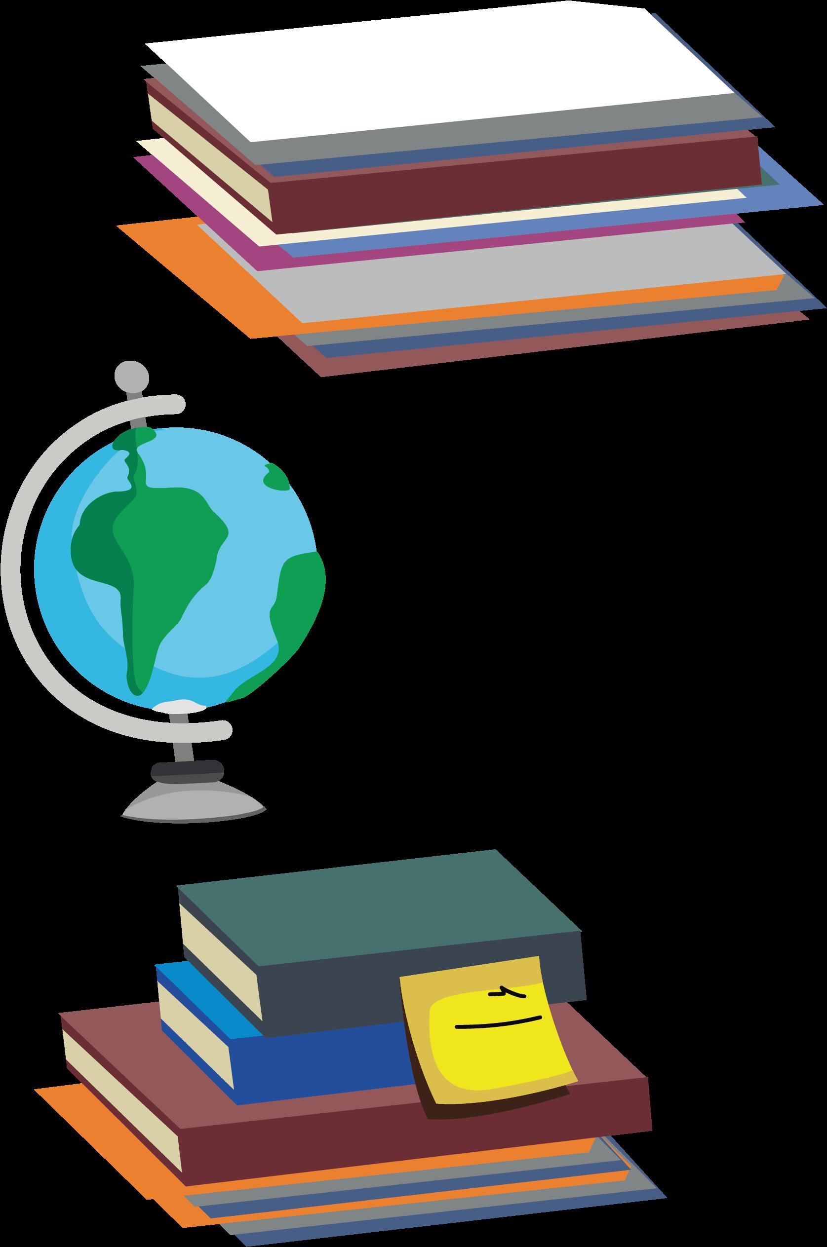 Доброе, картинка глобус с книгами