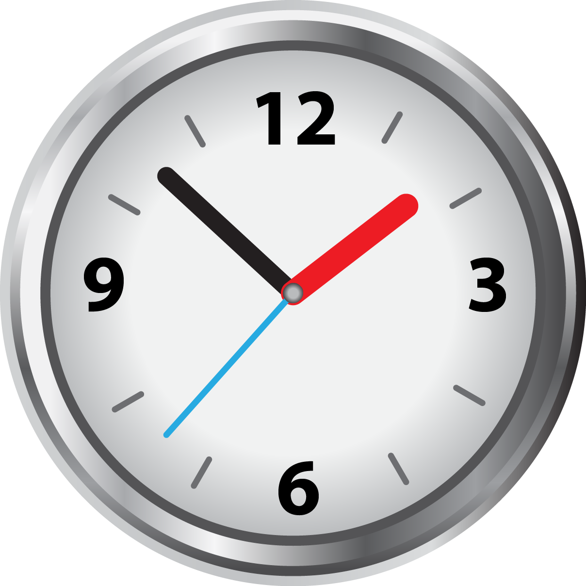 Clock Face - Blank Analog Clock Face - (1208x1208) Png