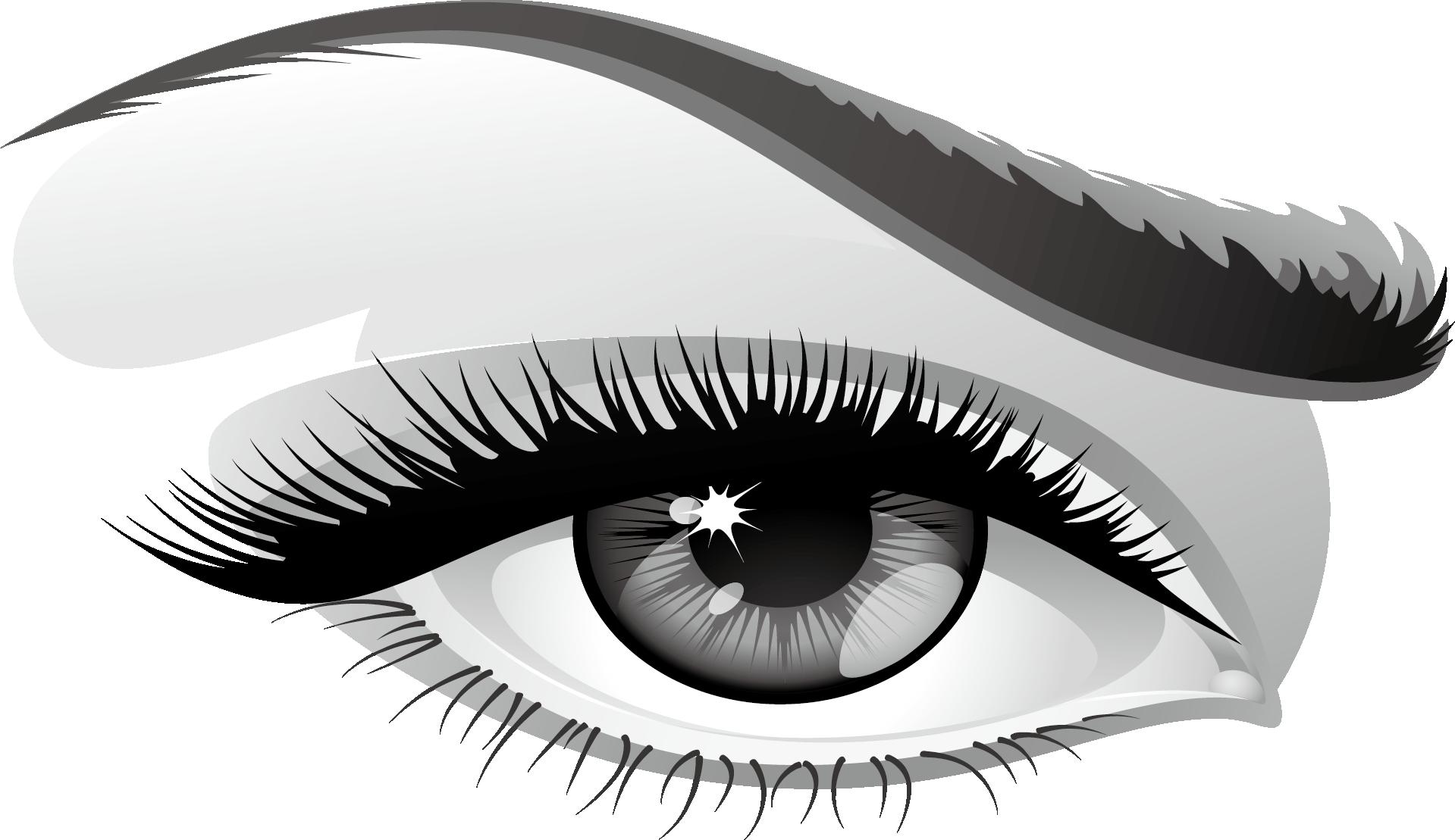 Брови и глаз картинка