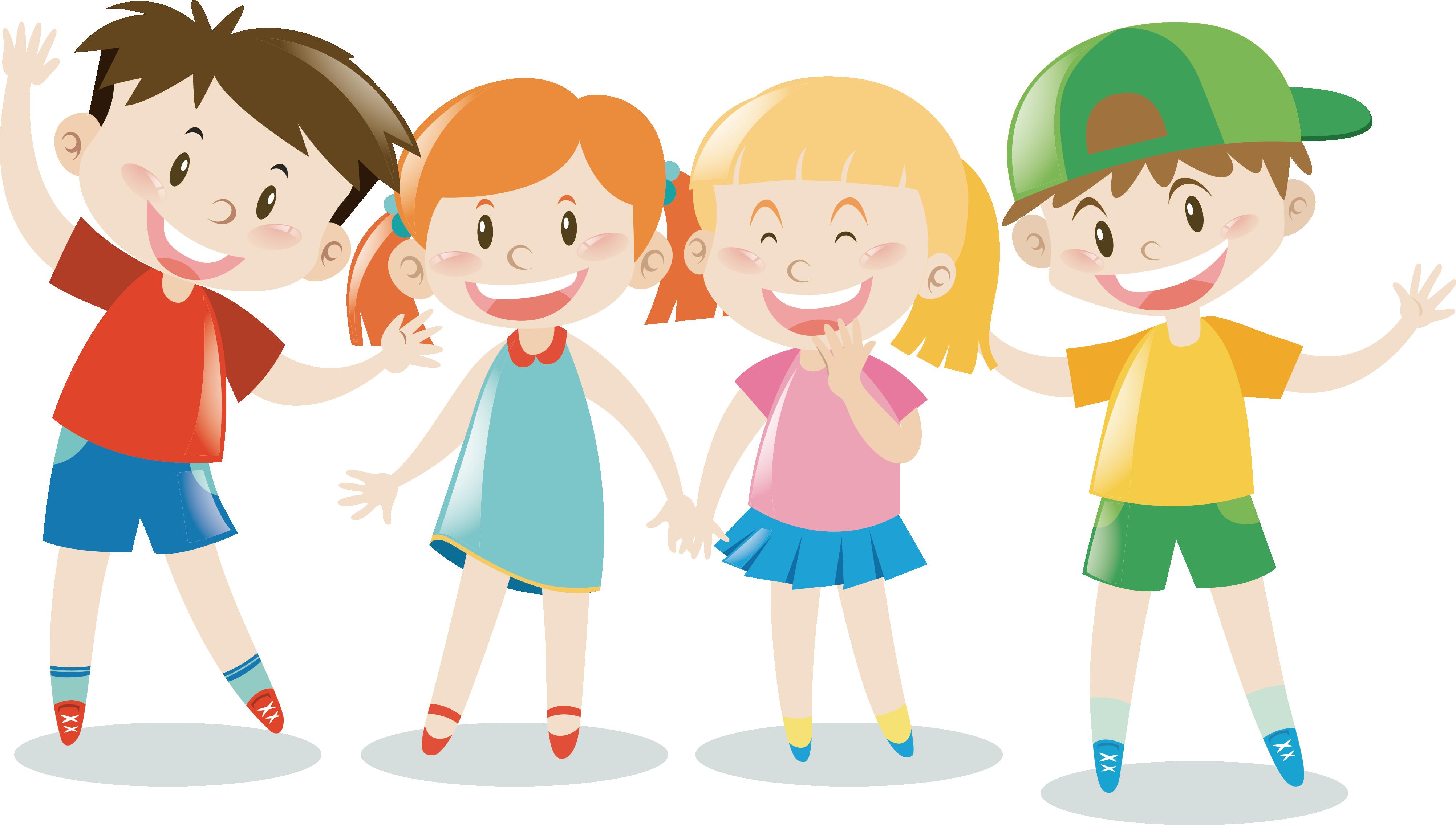 Дети векторные картинки для детей