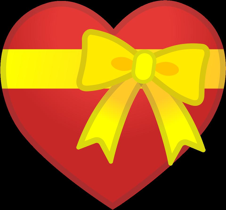 как картинка сердце с бантиком подразумевает его выпадение