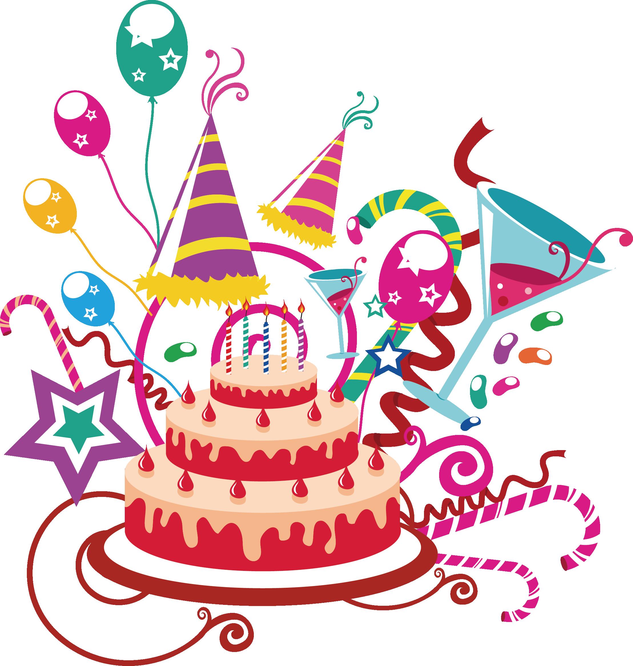 Картинки с днем рождения векторные