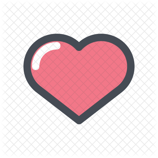 Love Icon - Heart Icon For Instagram - (512x512) Png Clipart