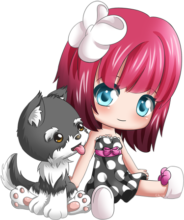 Warla Woo And Coco Chibi Facile Dessin Kawaii Chibi 428x476