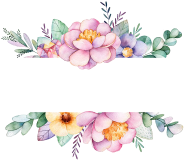 Watercolor Border, Watercolor Flowers, Watercolor Art, - Thank You For Coming Floral (450x470)