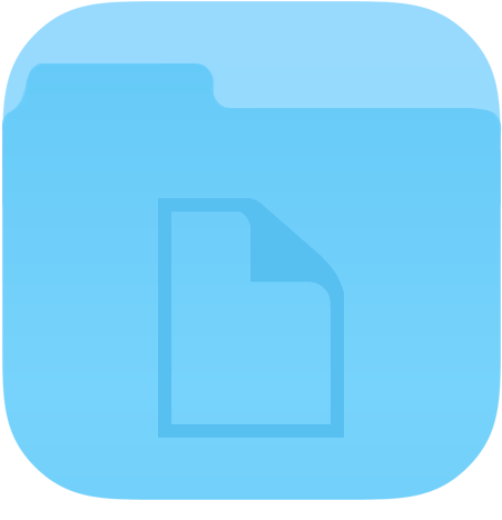 Downloads For Folder Documents - Ios 7 Folder Icon (512x512)