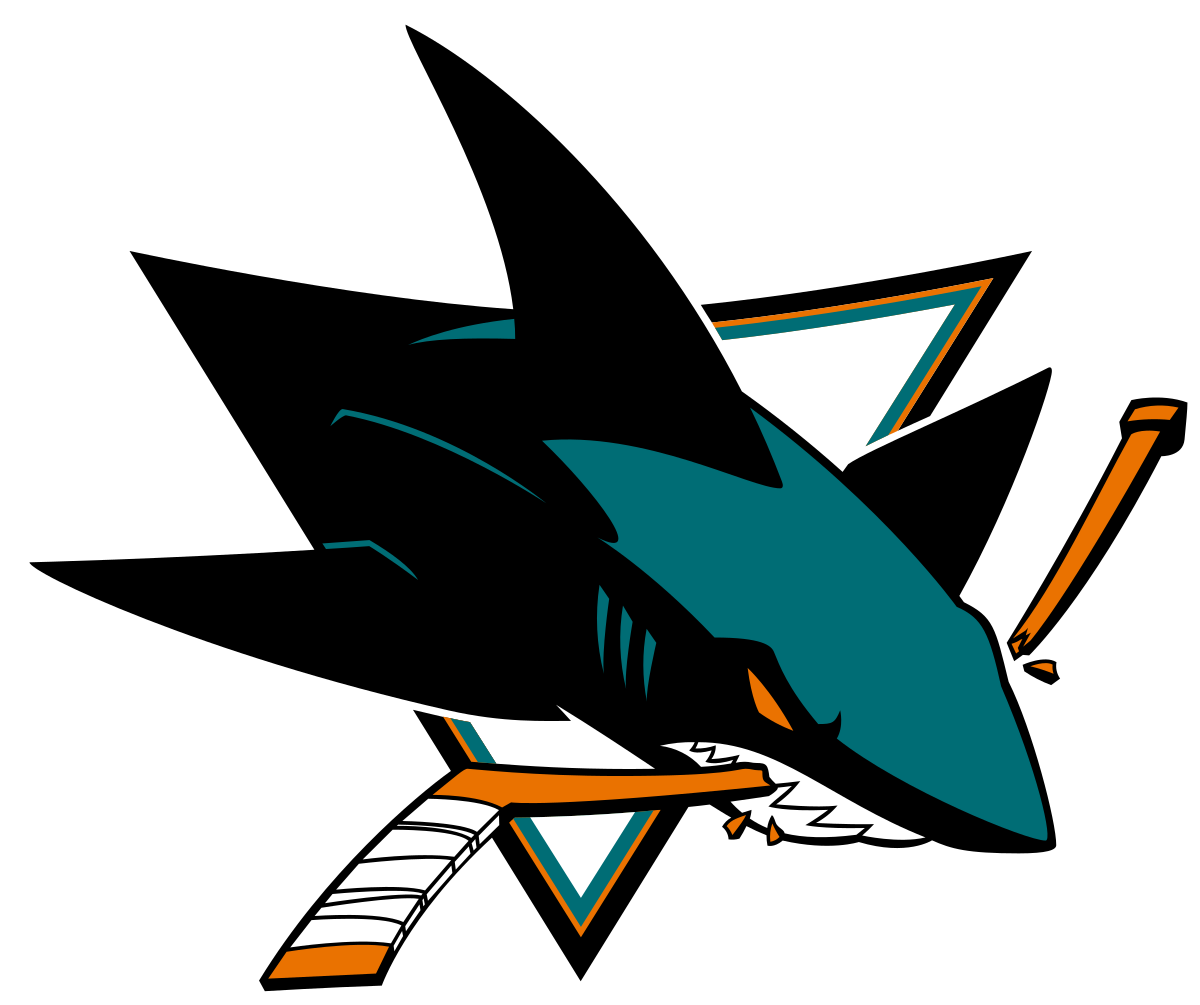 San Jose Sharks - Nhl San Jose Sharks (1258x1053)