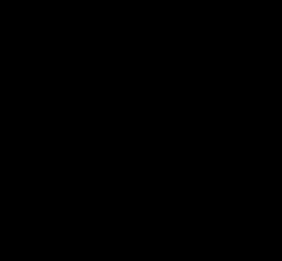 Diagonal Arrow Clip Art - Arrow Split Into 2 - (958x887) Png Clipart  Download