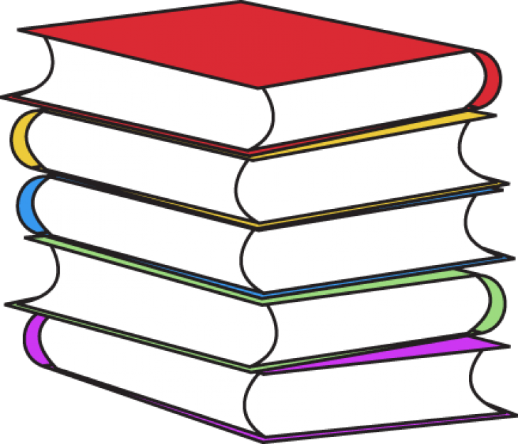 Stack Of Books - Book Clipart (728x625)