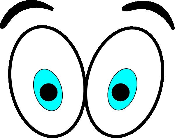 Big Cartoon Eyes Cartoon Eyes Clip Art At Vector Clip - Animated Eyes (728x573)