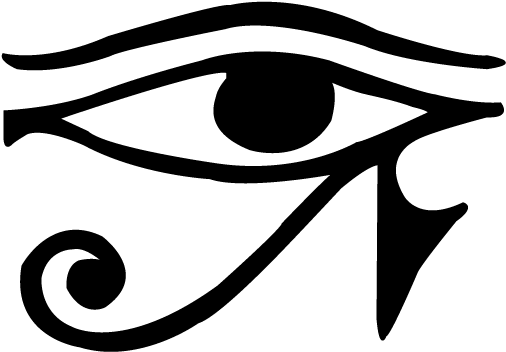 Eye Of Horus Symbol Clip - Eye Of Horus Tattoo (1224x792)