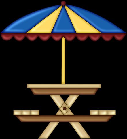 Picnic Table Clipart - Picnic (464x500)