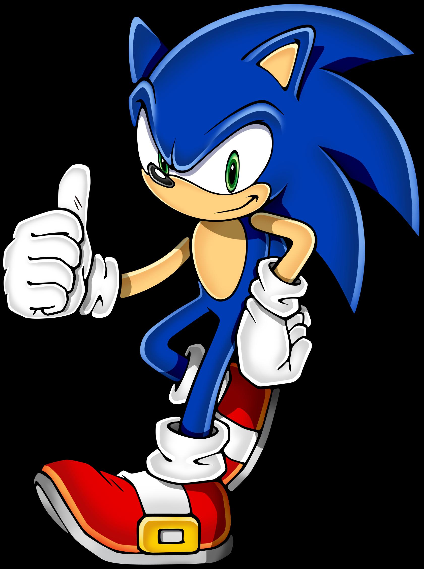Ёжик Panasonic Обновил Броню На Колючках - Sonic's The Name Speed's My Game (1682x2257)