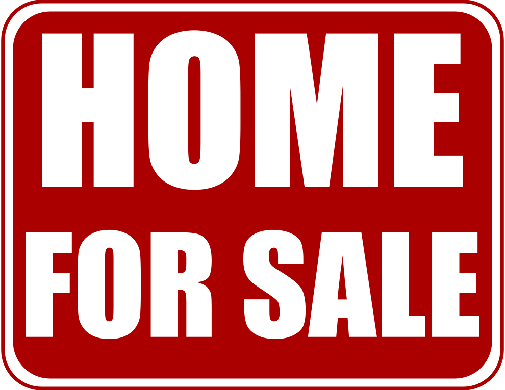 Sold House Clip Art - Sale By Owner Signs (990x765)