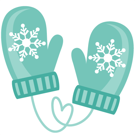 Clipart Of Mittens Collection Mitten Clip Art - Miss Kate Cuttables Winter (432x432)