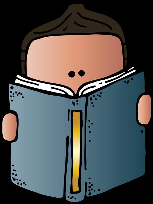 Reading Clipart Melonheadz - Melonheadz Reading Clipart (500x668)