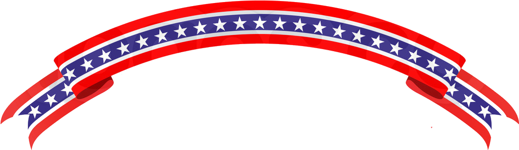 Patriotic Banner - Patriotic Banner Clipart (1025x296)