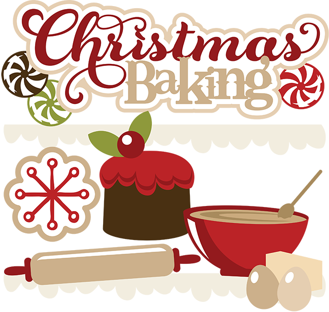 Chocolate Chip Clipart - Free Christmas Baking Clipart (648x615)