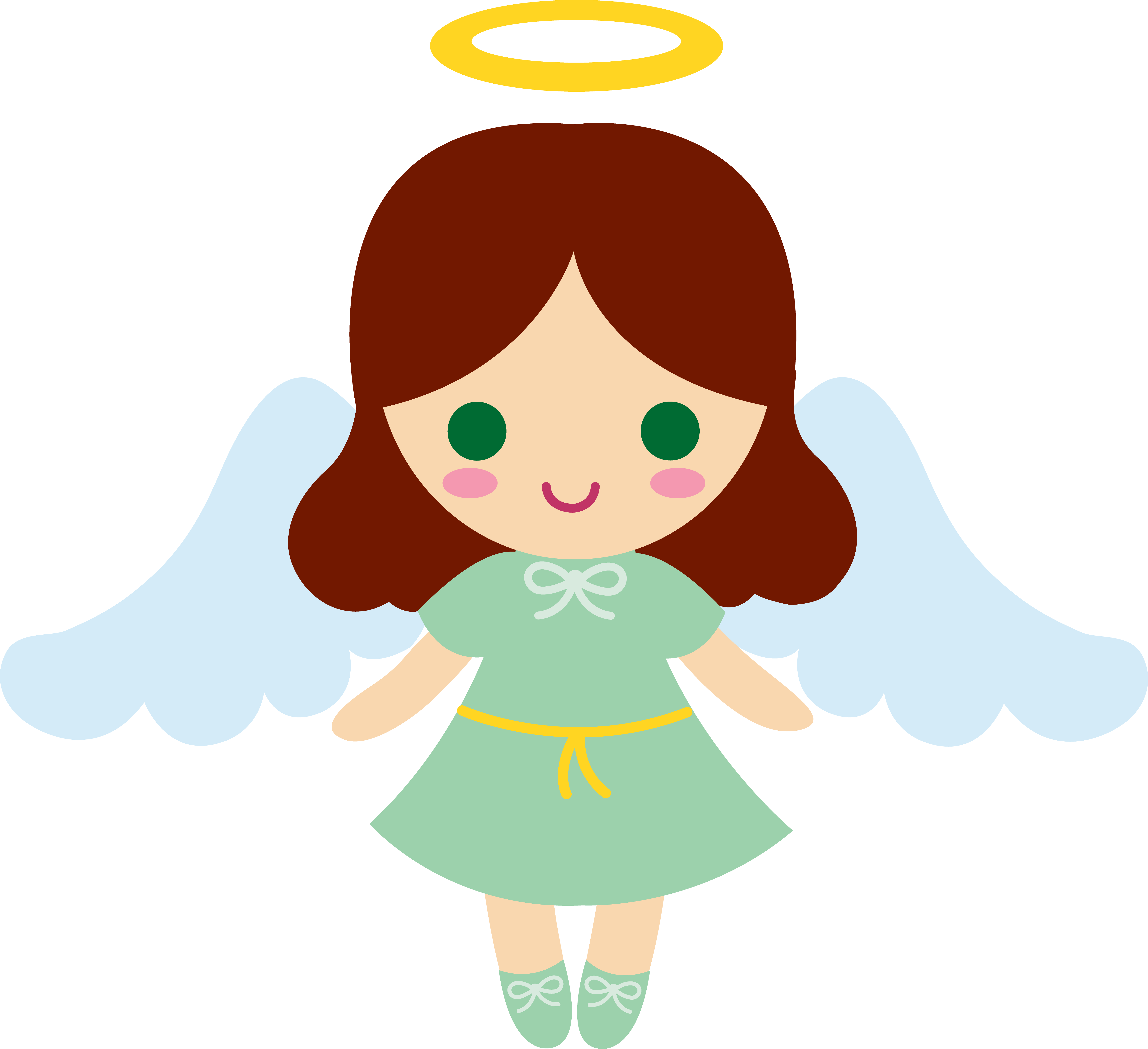 Free Picture Of A Chocolate Bar, Download Free Clip - Cute Angel Clipart (5999x5483)