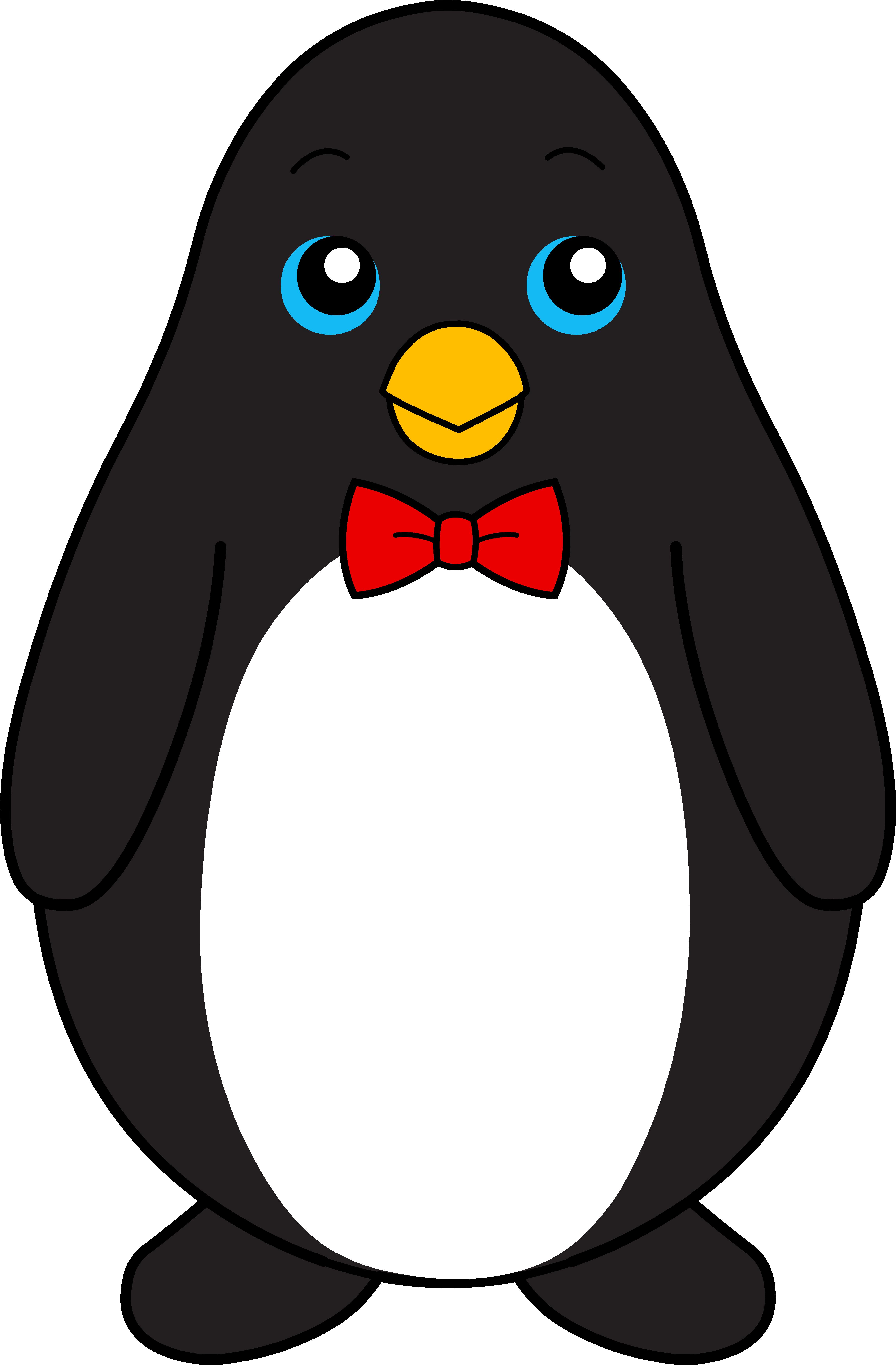 Пингвин картинка для детей мультяшная