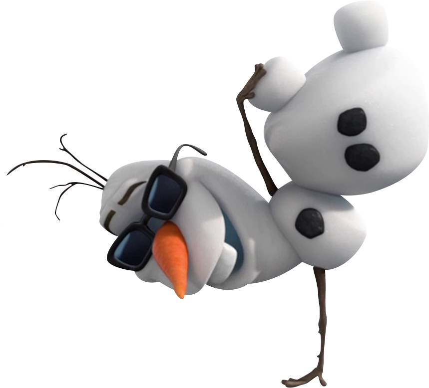 Olaf Png Free Download - Frozen Olaf Png (879x834)