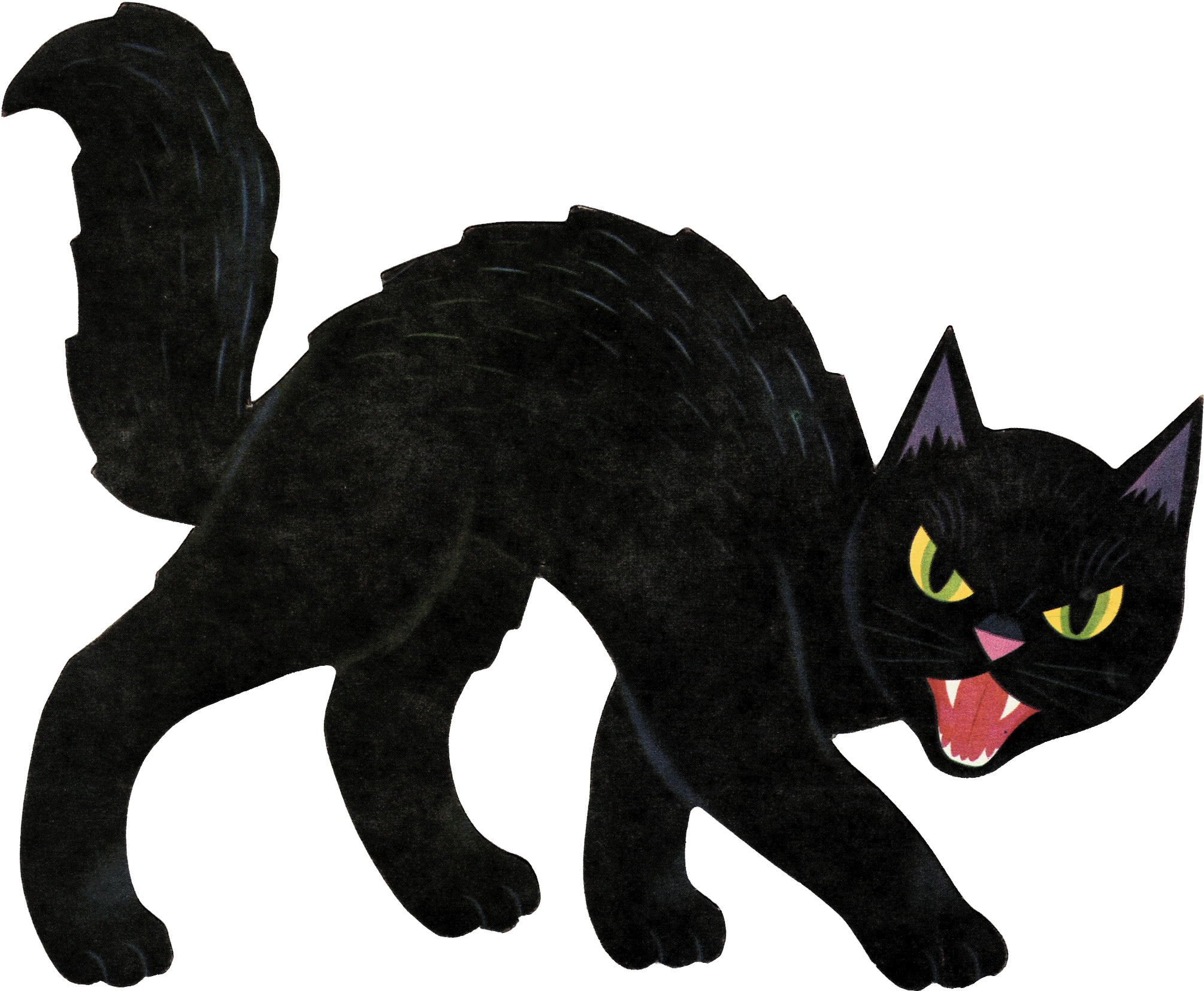 Черный кот нарисованный картинки для детей