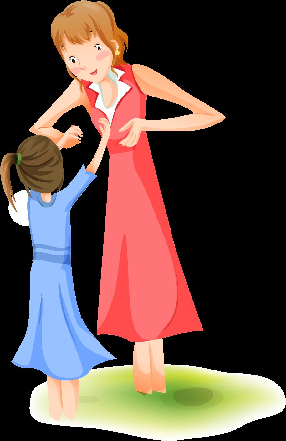 Мама с малышом картинки на прозрачном фоне