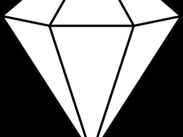 Diamond Clipart Clip Art - Draw A 3d Diamond - (640x480) Png