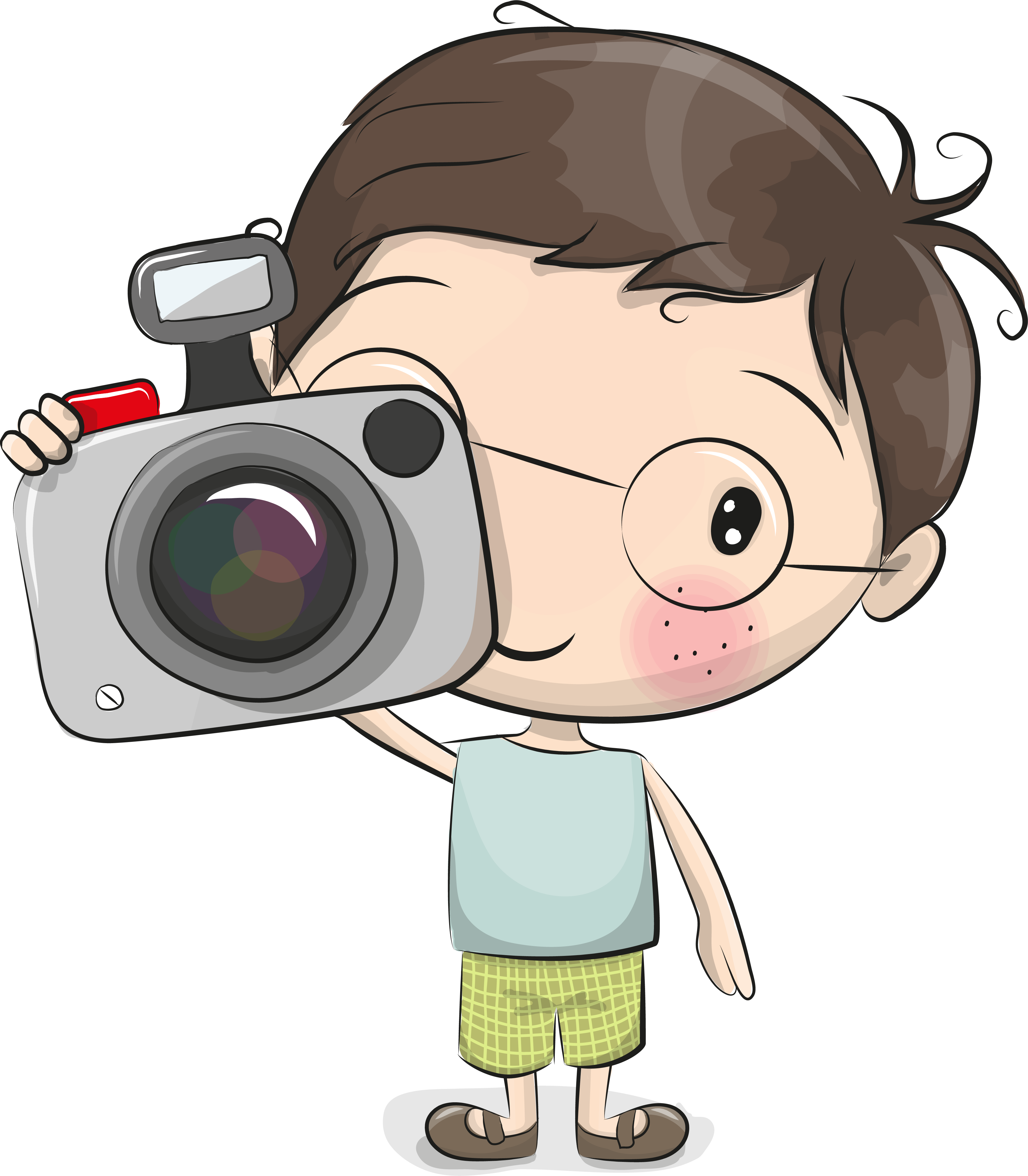 веселый фотоаппарат картинки