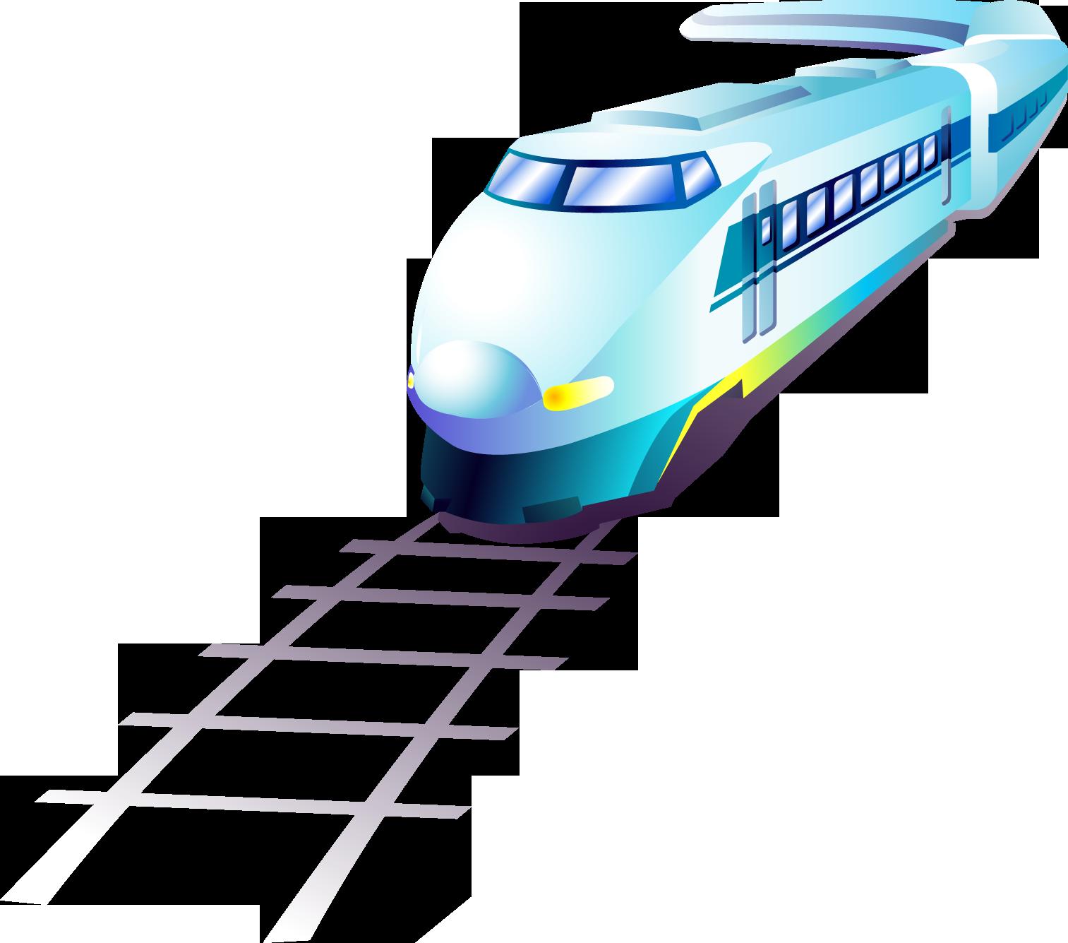 Картинка поезда в презентации