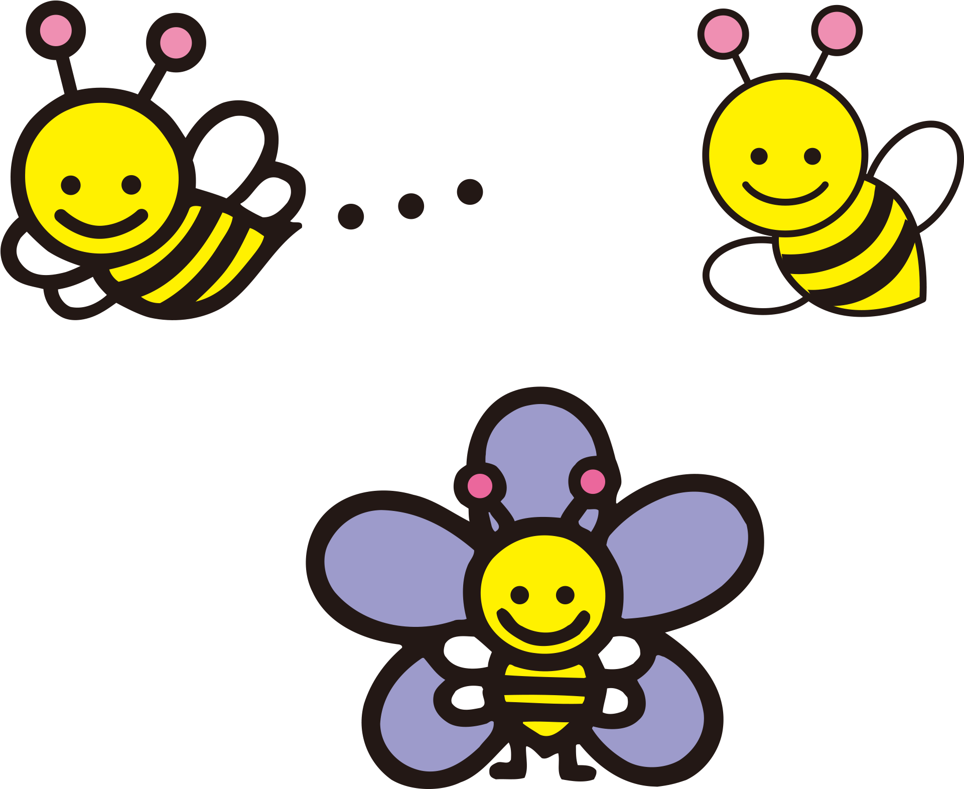 Картинки анимации пчелки
