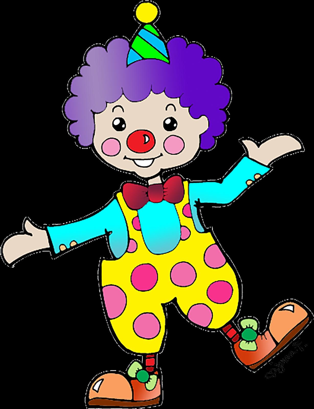 Веселый клоун рисунок для детей, хватает тебя открытка