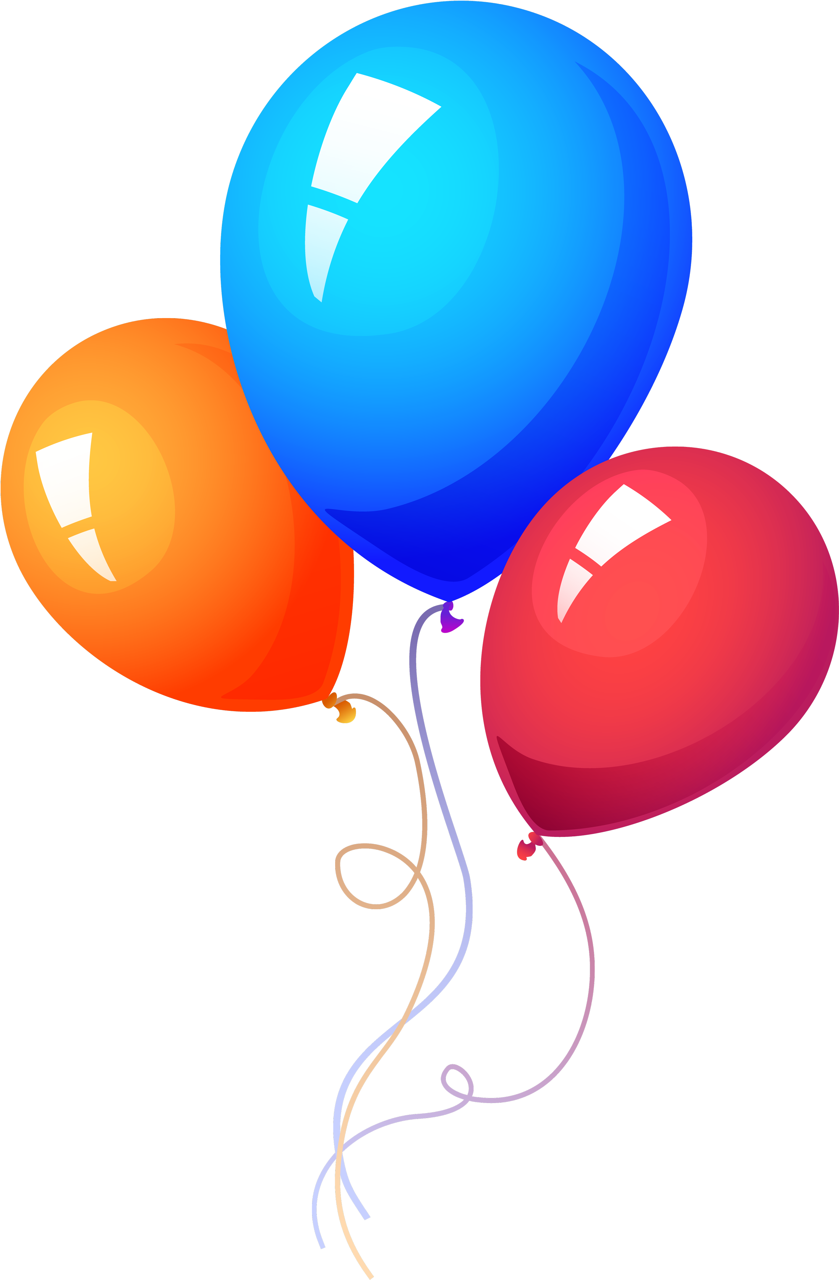 Balloon Free Png Transparent Background Images Free - Party Balloons Png (3350x4606)