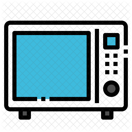 Microwave Icon - Microwave Oven (512x512)
