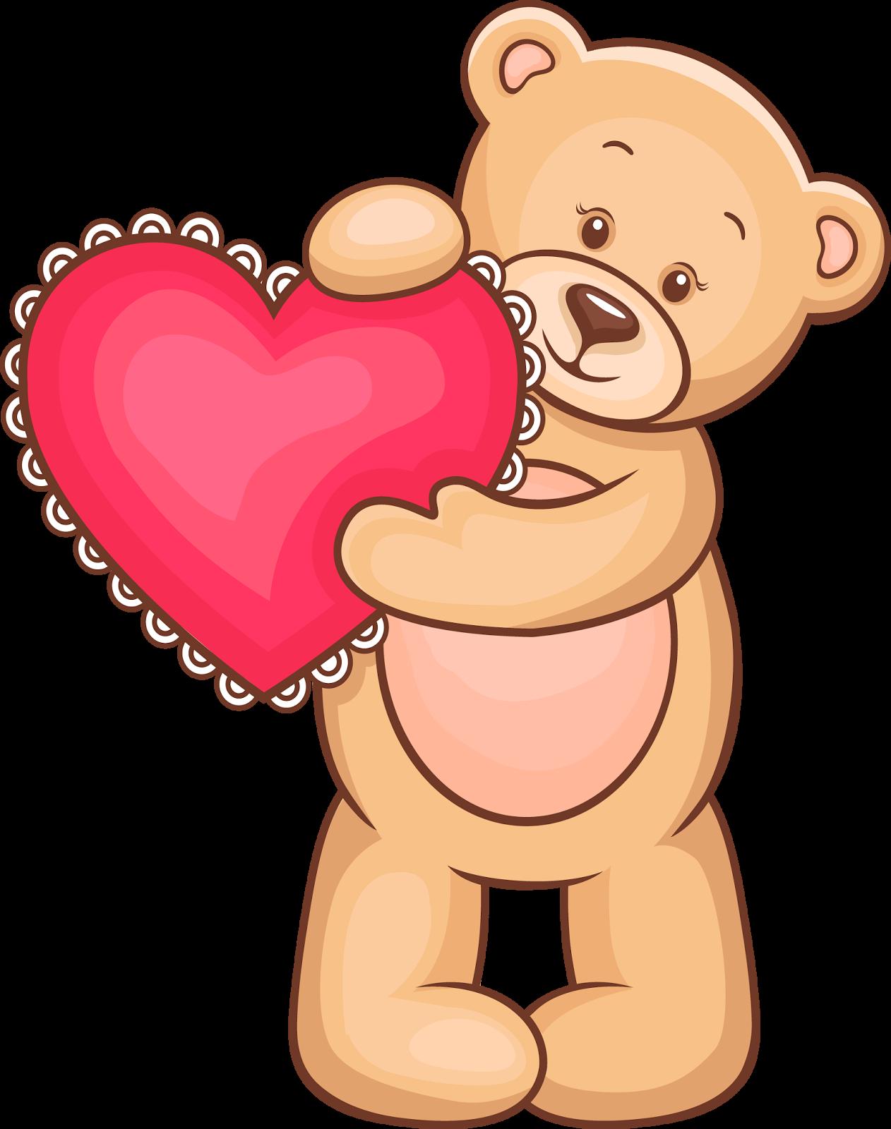 Картинки про мишек с сердечками, картинки днем