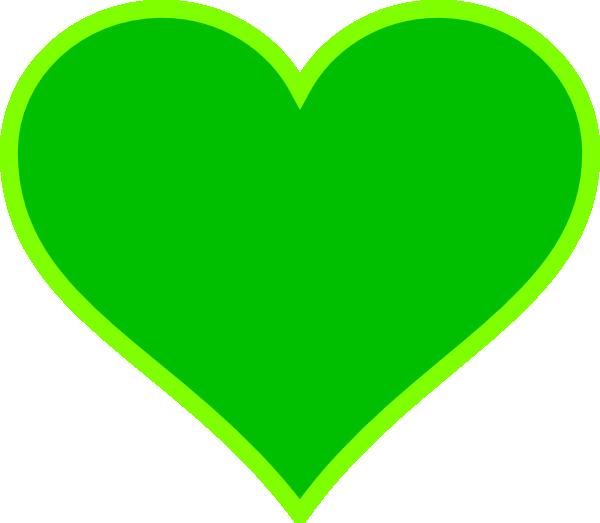 Сердечко зеленое картинки