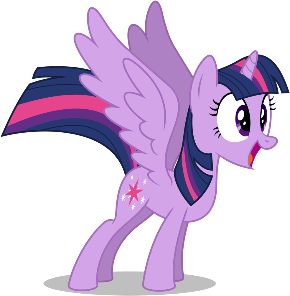 Absurd Res, Alicorn, Artist - Princess Twilight Sparkle Excited (998x1024)