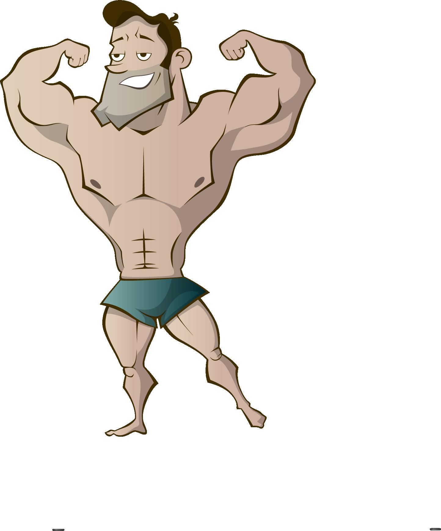 Смешные картинки сильных мужчин